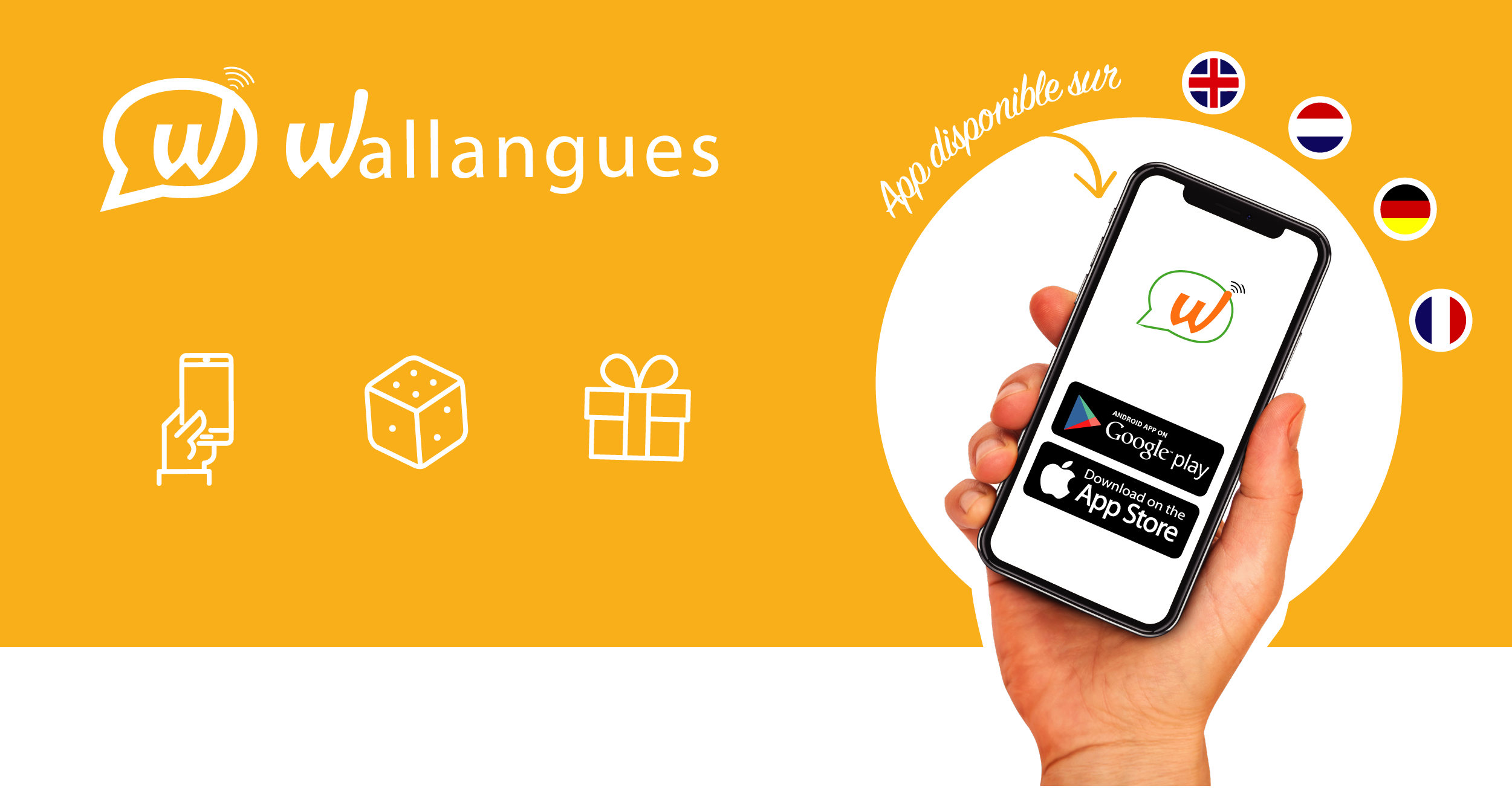 La Wallonie lance l'application Wallangues et rend l'apprentissage des langues encore plus facile !