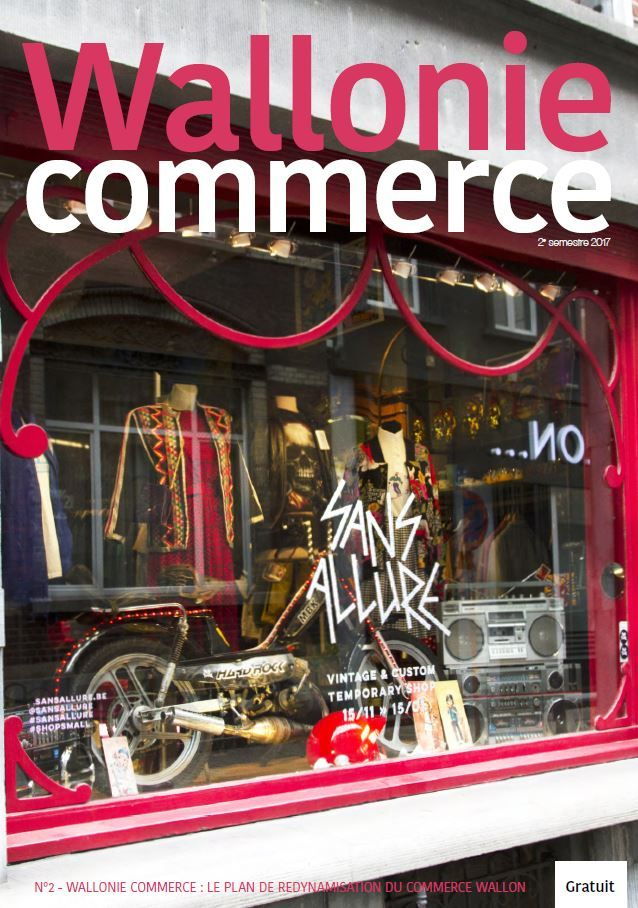 Magazine Wallonie Commerce - 2è parution