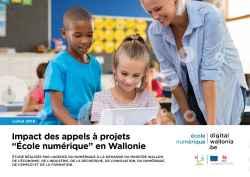 Impacts des appels à projets Ecole Numérique en Wallonie